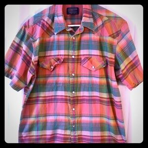 Pendleton Pearl Snap Short Sleeve Shirt